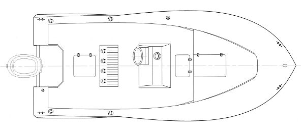 Image of Kitty Hawk 18 Deck Arrangement