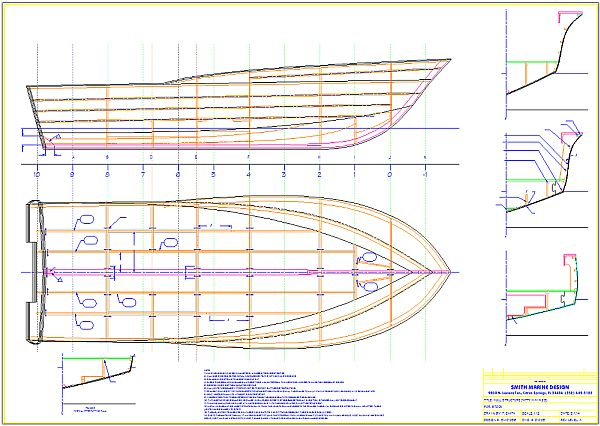 Kitty Hawk 23 Construction Plan