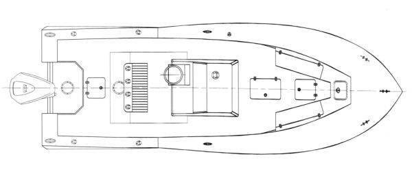 Kitty Hawk 23 Deck Arrangement