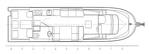 32' Expedition Cruiser Arrangement Plan